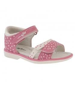 Detské dievčenské ružové sandálky Wojtylko