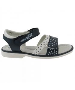 Detské dievčenské modré sandálky Wojtylko