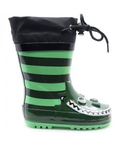 Detské zelené gumáky AMERICAN