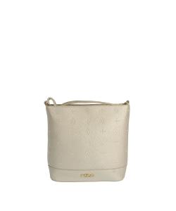 Dámska zlatá kabelka nobo