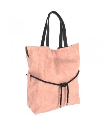 Dámska ružová kabelka verto 0ae9e2d4b4c