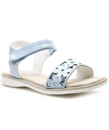 78a28d5e7640 Dievčenské sandálky modré American