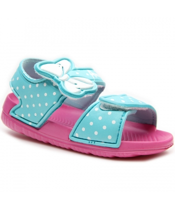 5139b63ed8cd Dievčenské modré sandále American