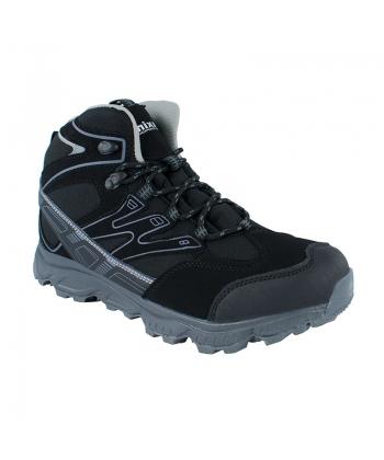 d6b814453753 Mládežnícke topánky čierne AXIM