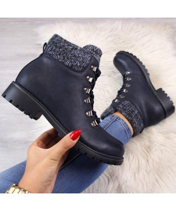 3040e42ba7 Dámske modré členkové topánky