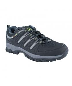 Pánske trekingové čierne topánky Axim