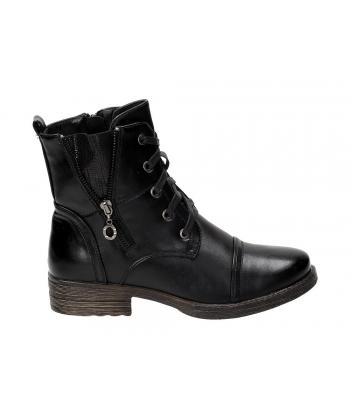 Dámske čierne členkové topánky e56569e5e66