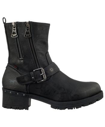 b891d5588216 Členkové dámske sivé topánky MUSTANG