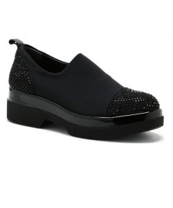 Dámske čierne topánky LANQIER