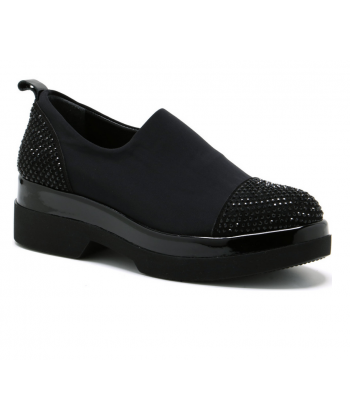 a83377a76584e Dámske čierne topánky LANQIER