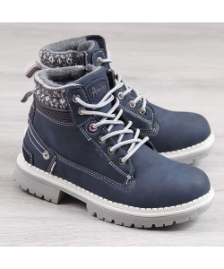 76a531d04 Detské modré čižmy American Detské modré čižmy American