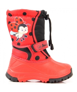 Dievčenské červené snehule American