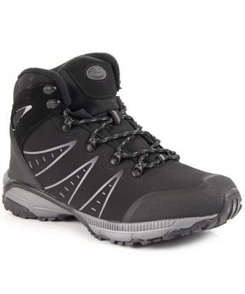 Pánske čierne trekingové topánky f62b0cf0d51