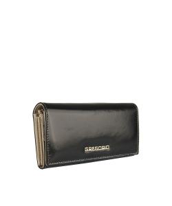 Dámska čierna peňaženka GREGORIO