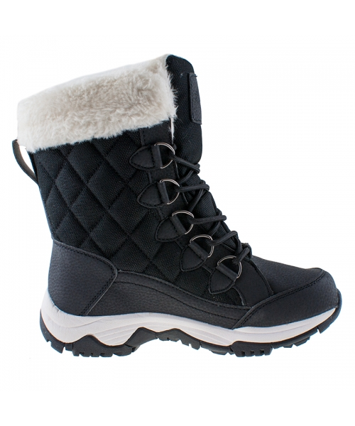 cac8f9f8cacf8 Dámske čierne snehule VEMONT