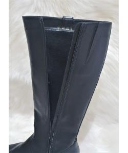 Dámske čierne čižmy JANTA