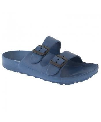 Pánske modré šľapky AXIM e5ec7cfbcb7