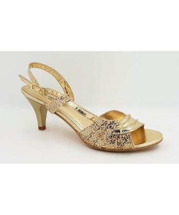 8786858e3ad Sandále zlaté LA VITA