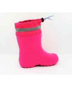 Dievčenské ružové gumáky KOLMAX