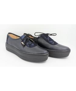Dámske čierno-modré topánky imunzi