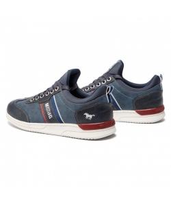 Pánske modré botasky MUSTANG