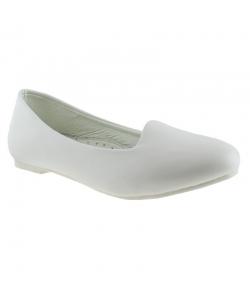 Dámske biele balerínky Wojtylko
