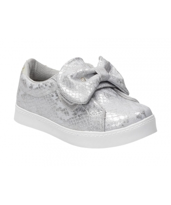 4b7af0c82ece Detské strieborné topánky