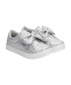 c7e44363a0 Detské strieborné topánky Detské strieborné topánky