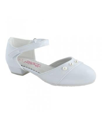 8a0277ee6c Dievčenské biele topánky Wojtylko