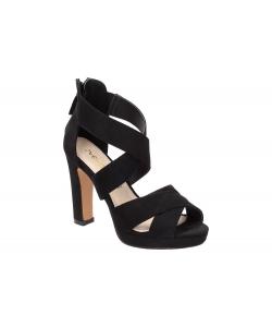 Sandále čierne SABATINA