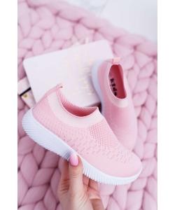 Dievčenské tenisky ružové NEWS