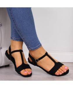 Dámske sandále čierne EVENTO
