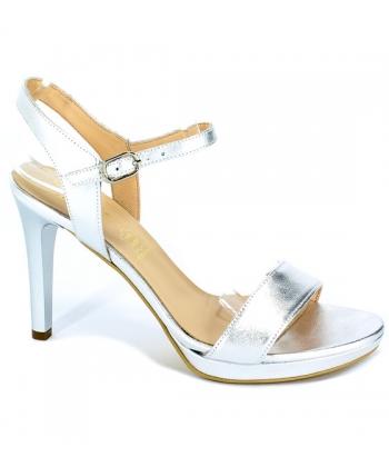 7bcc72f457697 Sandále strieborné SALA