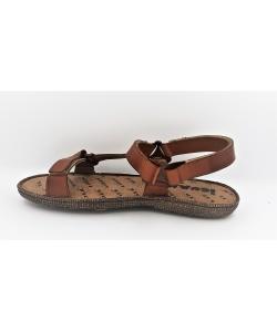 Pánske hnedé sandále IGUANA
