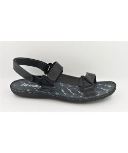 Pánske čierne sandále IGUANA