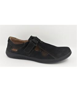 Sandále čierne mateos
