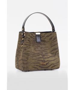 Dámska zelená kabelka Monnari