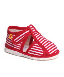 Dievčenské červené papučky RAK