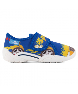 Detské modré papučky Renbut