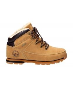Pánske hnedé zimné topánky American