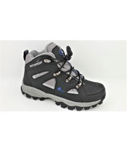 Detské čierne topánky VEMONT