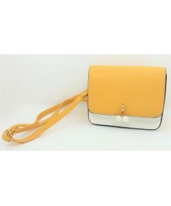 Dámska žltá kabelka DUDLIN