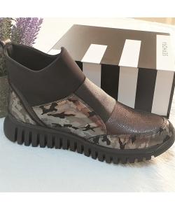 Dámske čierne topánky ARTIKER