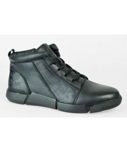 Pánske čierne topánky Lee Cooper