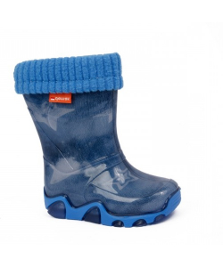 Detské modré gumáky Demar