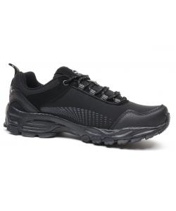 UNI čierne trekingové topánky American