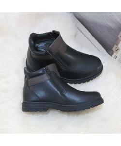 Pánske čierne čižmy Mans Style