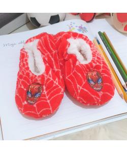 Detské červené papuče SPIDER MAN