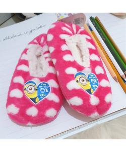 Detské ružové papuče MIMONI