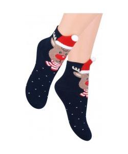 Detské modré ponožky STEVEN